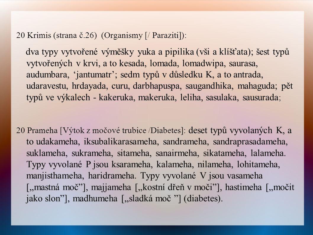 20 Krimis (strana č.26) (Organismy [/ Paraziti]):